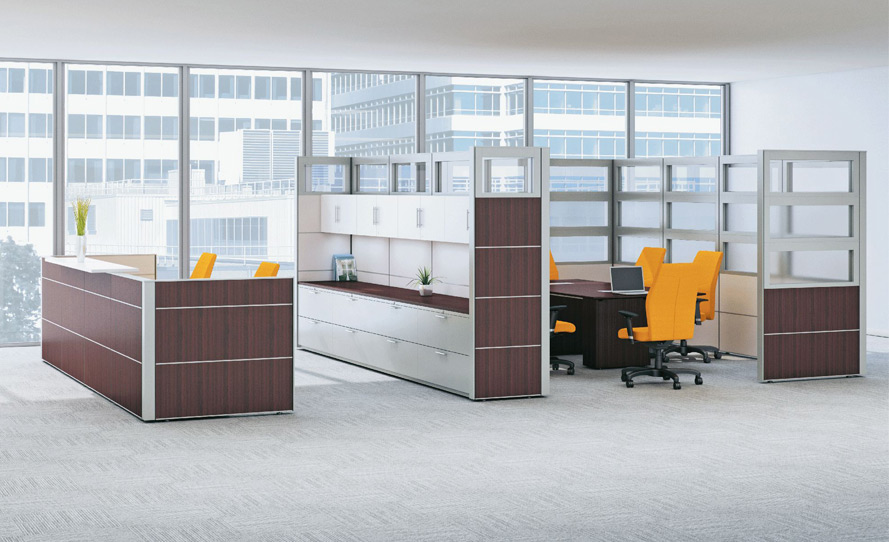 Systems furniture with endless customization options