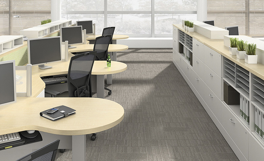 Create Functional Space Separators with Abundant Filing. 