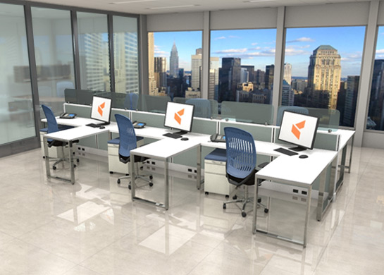 Office Furniture Workstations #L1