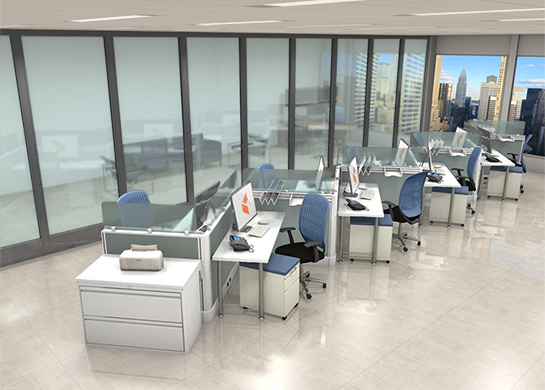 Office Furniture Workstations #Z1