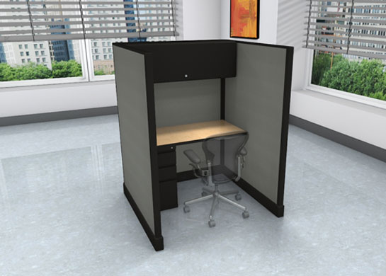 Call Center Cubicles: 4x4 + storage