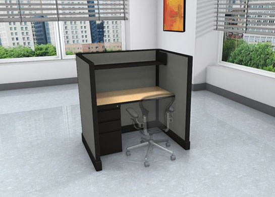 Call Center Cubicles: 3x4 + storage