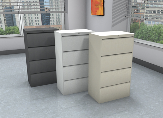Office File Cabinets, 9300P #9330P-4F1H