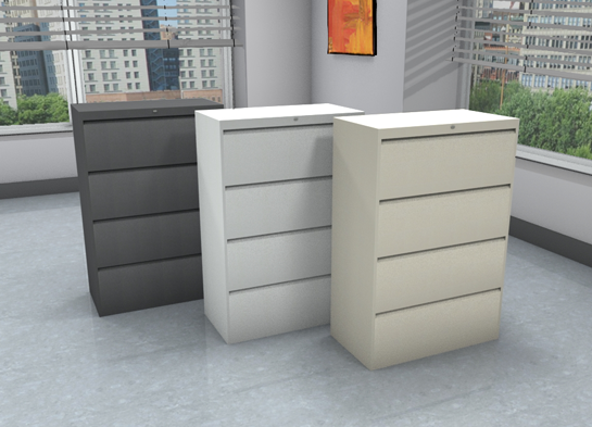 Office File Cabinets, 9300P #9336P-4F1H