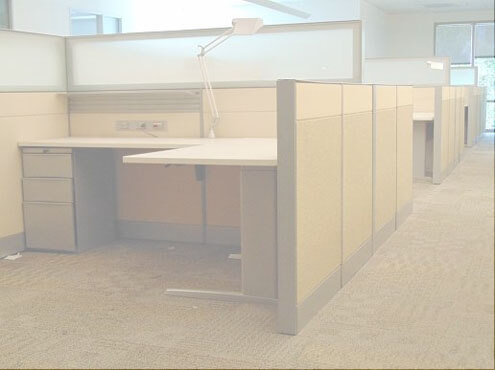 Used Cubicles #071316-2