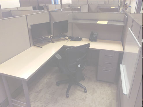 Used Cubicles #071516-1