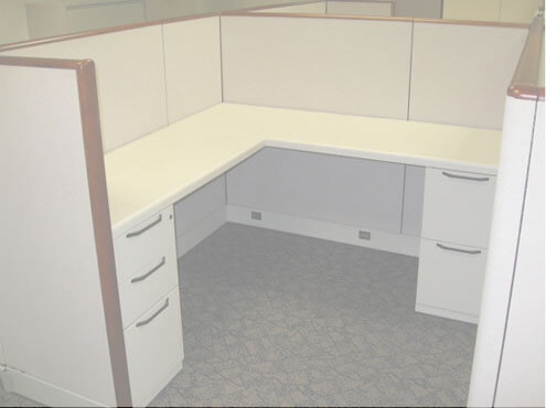 Used Cubicles #031714-6