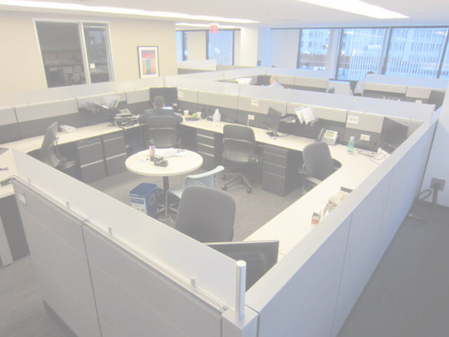 Used Cubicles #101215-1