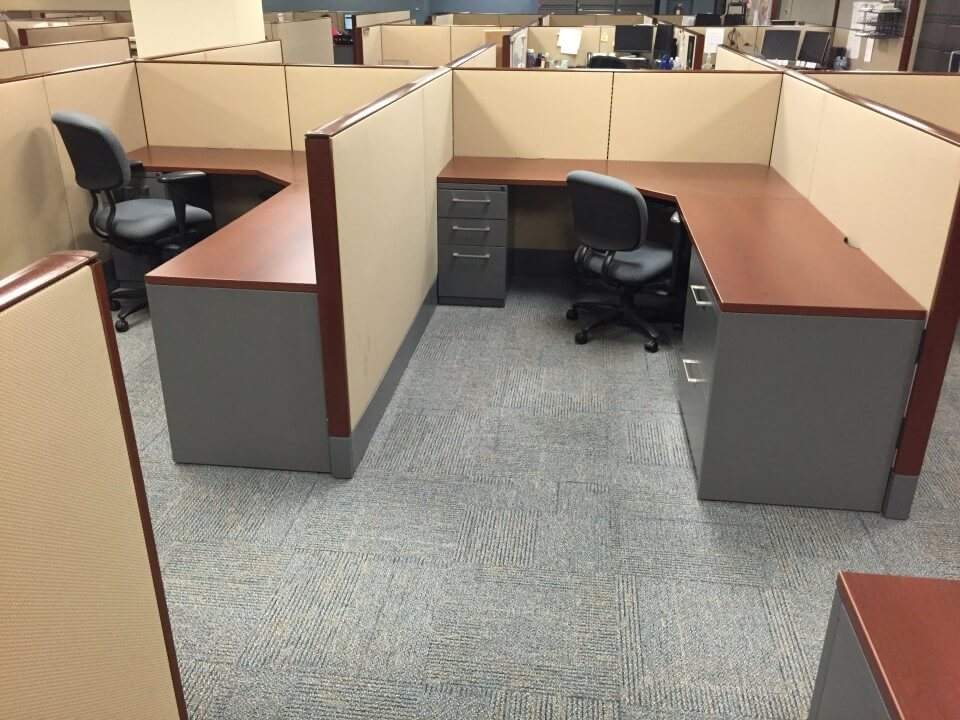 Used Cubicles #042817-RN1