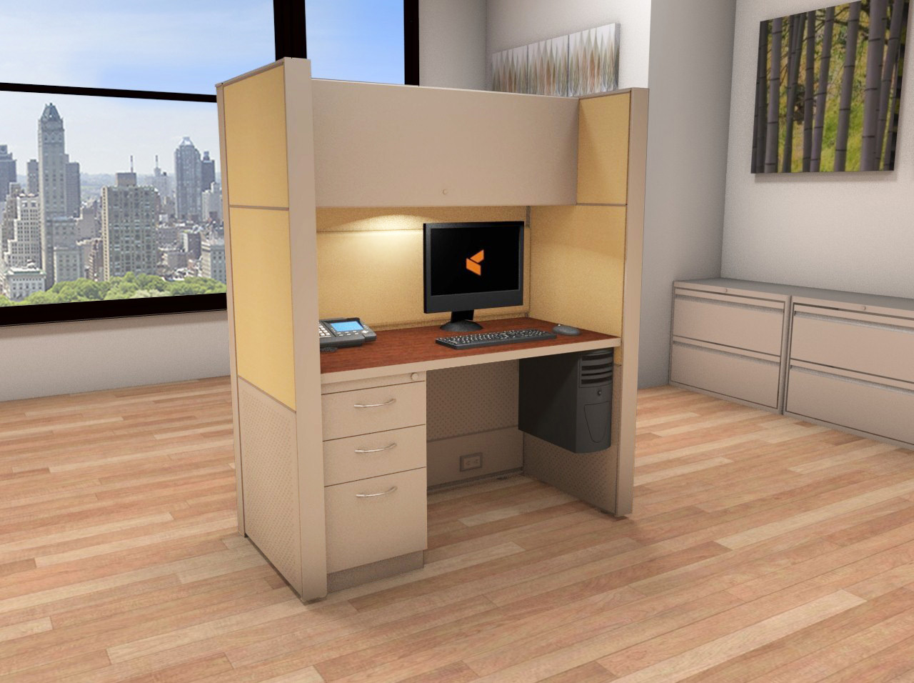Cubicle Systems - #2x4x66