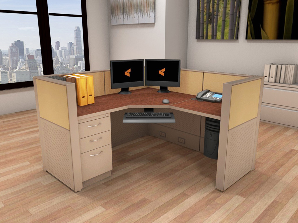 Cubicle Systems - #5x5x42