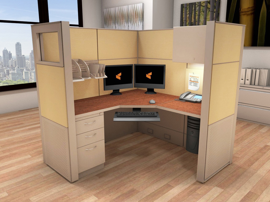 Cubicle Systems - #5x5x66