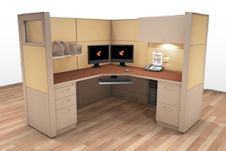 Cubicle Systems - #6x6x66