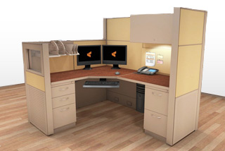 Cubicle Systems - #5x6x66-50