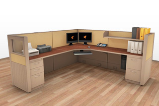 Cubicle Systems - #8x8x50