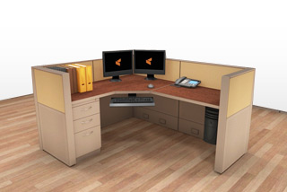 Cubicle Systems - #5x6x42