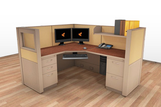 Cubicle Systems - #5x6x50