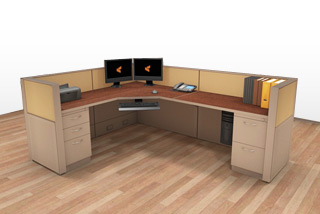 Cubicle Systems - #6x8x42