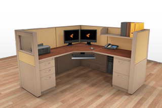 Cubicle Systems - #6x6x50