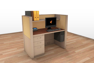 Cubicle Systems - #2x4x50