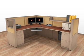 Cubicle Systems - #6x8x50