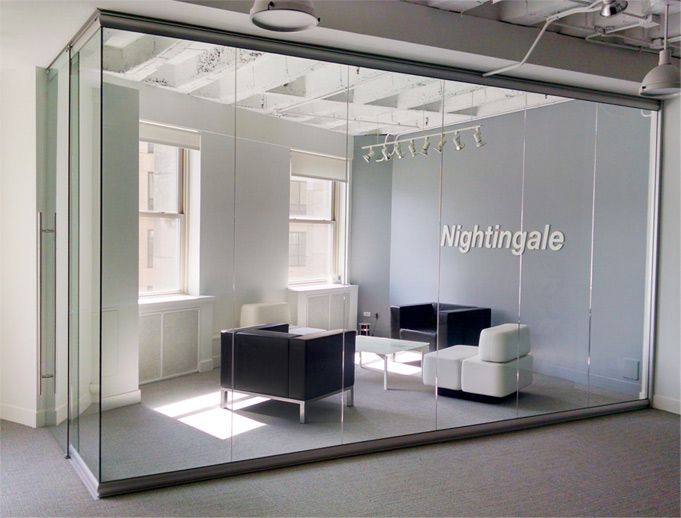 Glass Partition Walls #VIEW-ROOM-3-M