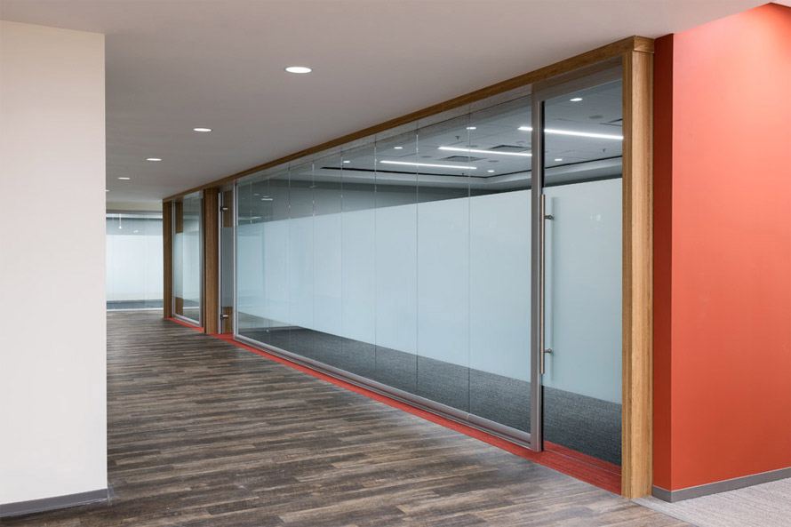 Glass Partition Walls #VIEW-WALL-1
