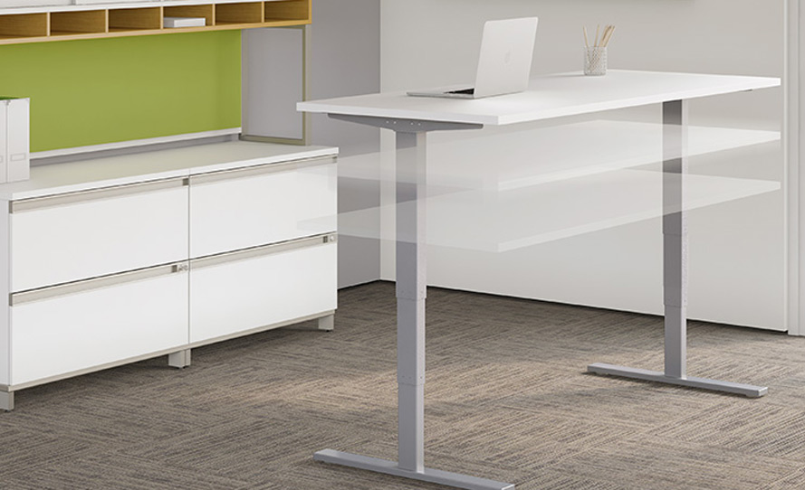Sit Stand Desks By Cubicles Com
