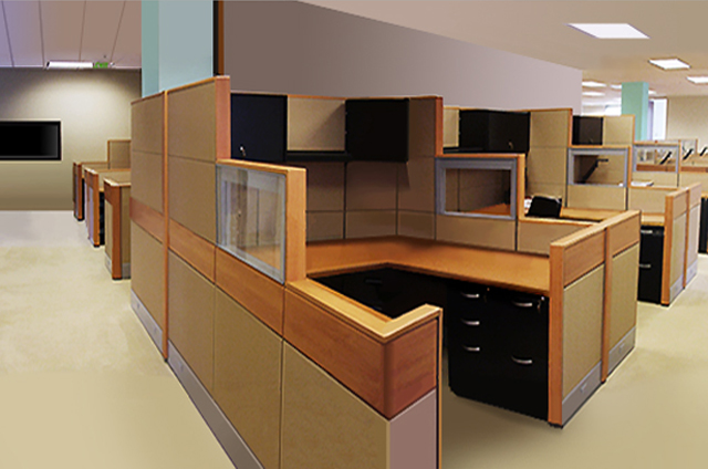 Wood Office Cubicles ~ Office furniture cubicles filing and seating