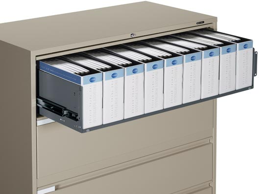 4 Drawer Lateral File Cabinet by cubicles.com