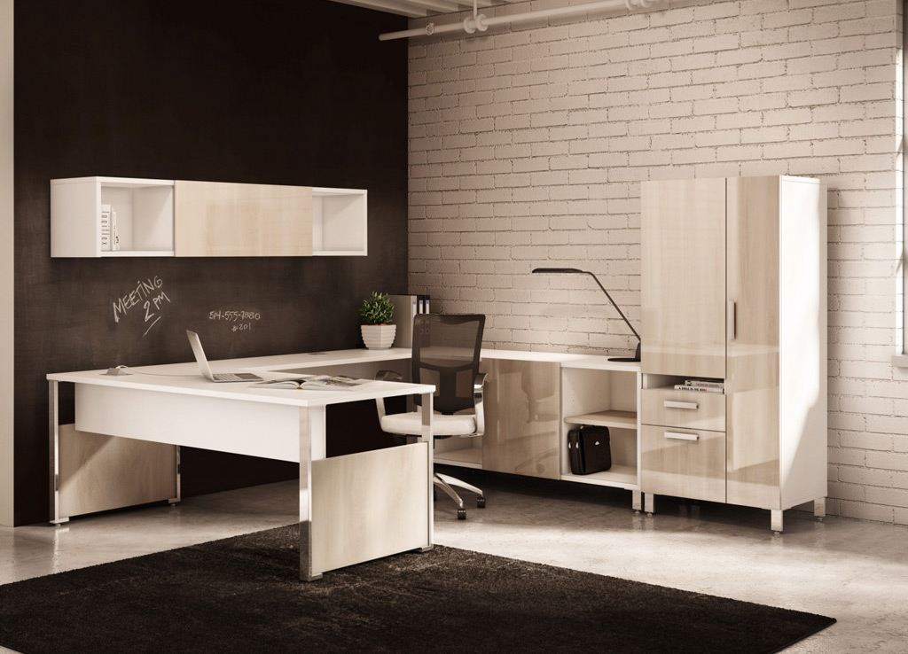 executive office desks - contemporary office desk
