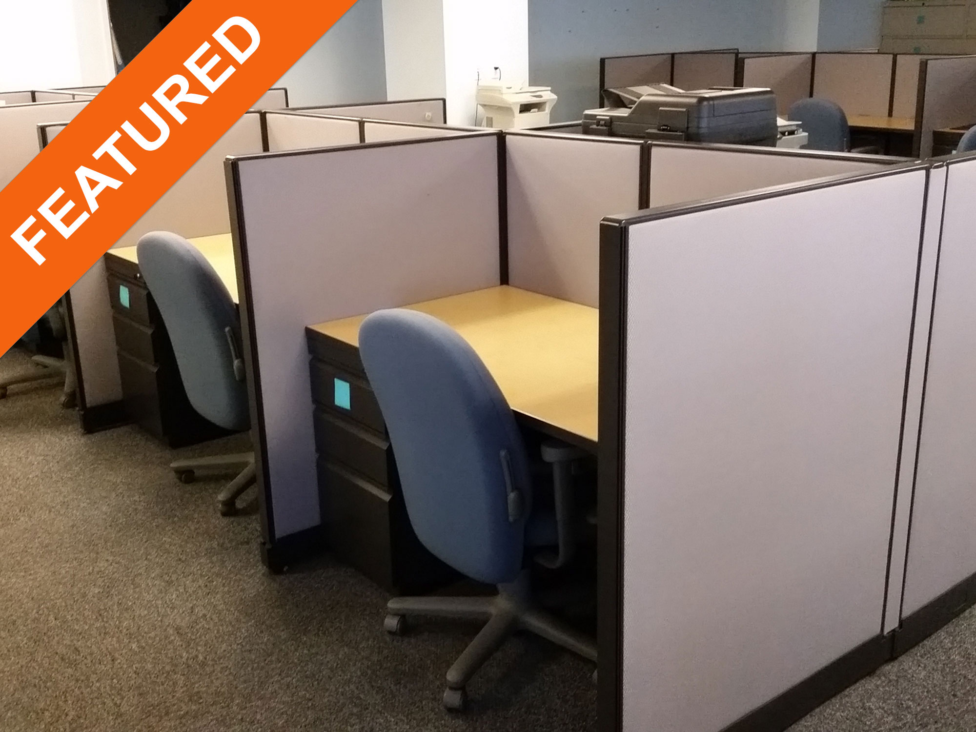 Trendway Choices 3 X 5 Used Office Cubicles Used Cubicles