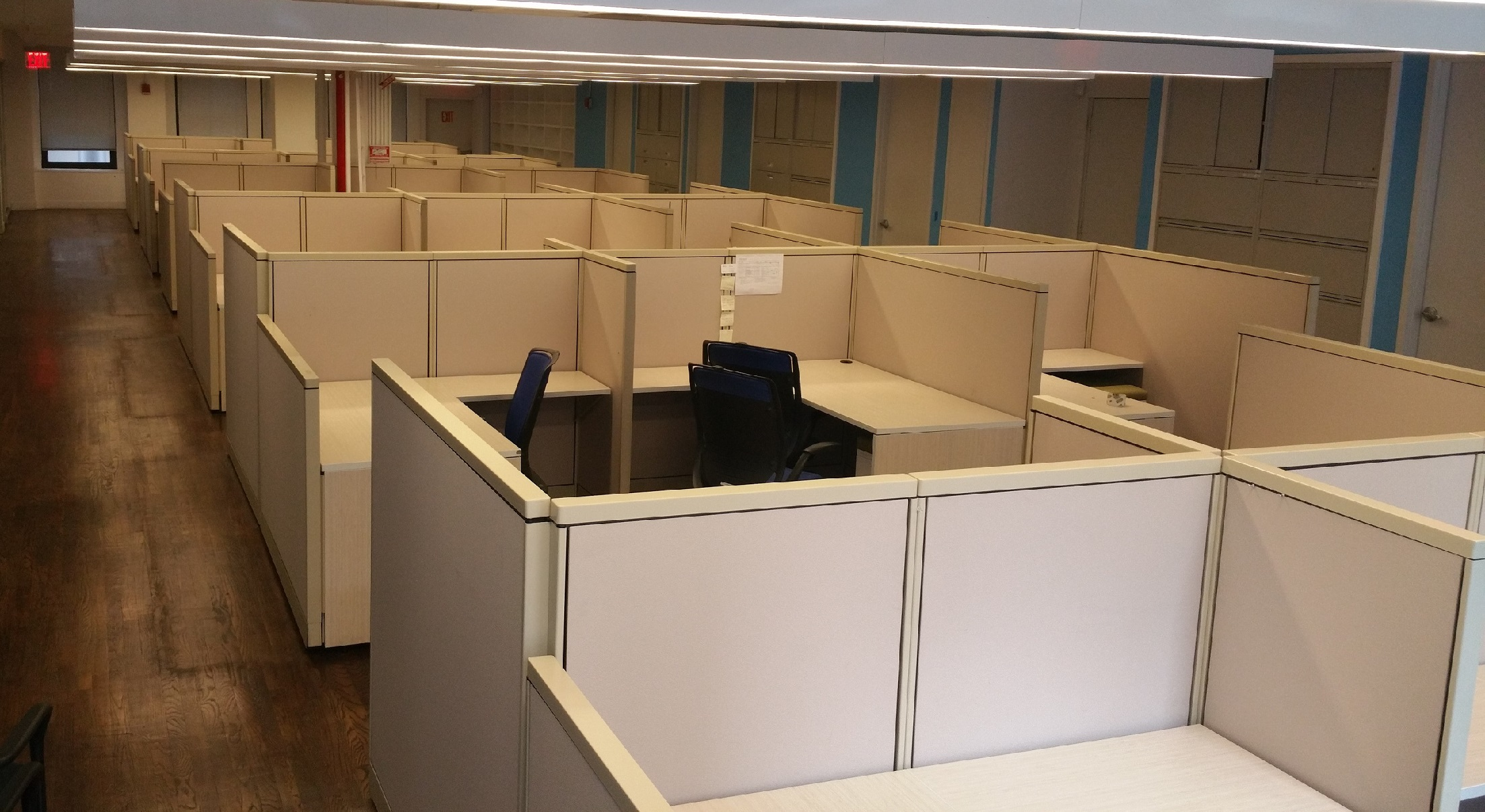 cubicle systems 5x5 - used office cubicles