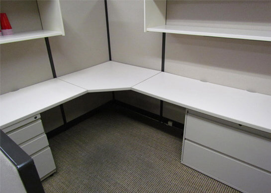Trendway Workstations 7x6 Used Office Cubicles Used