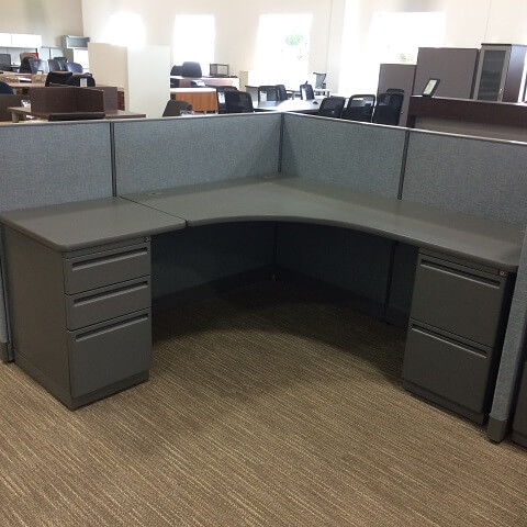 Used Haworth Places 6x6 Low Panels Used Cubicles