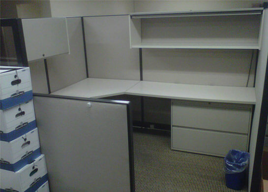 Trendway Workstations 7x6 Used Office Cubicles Used Cubicles
