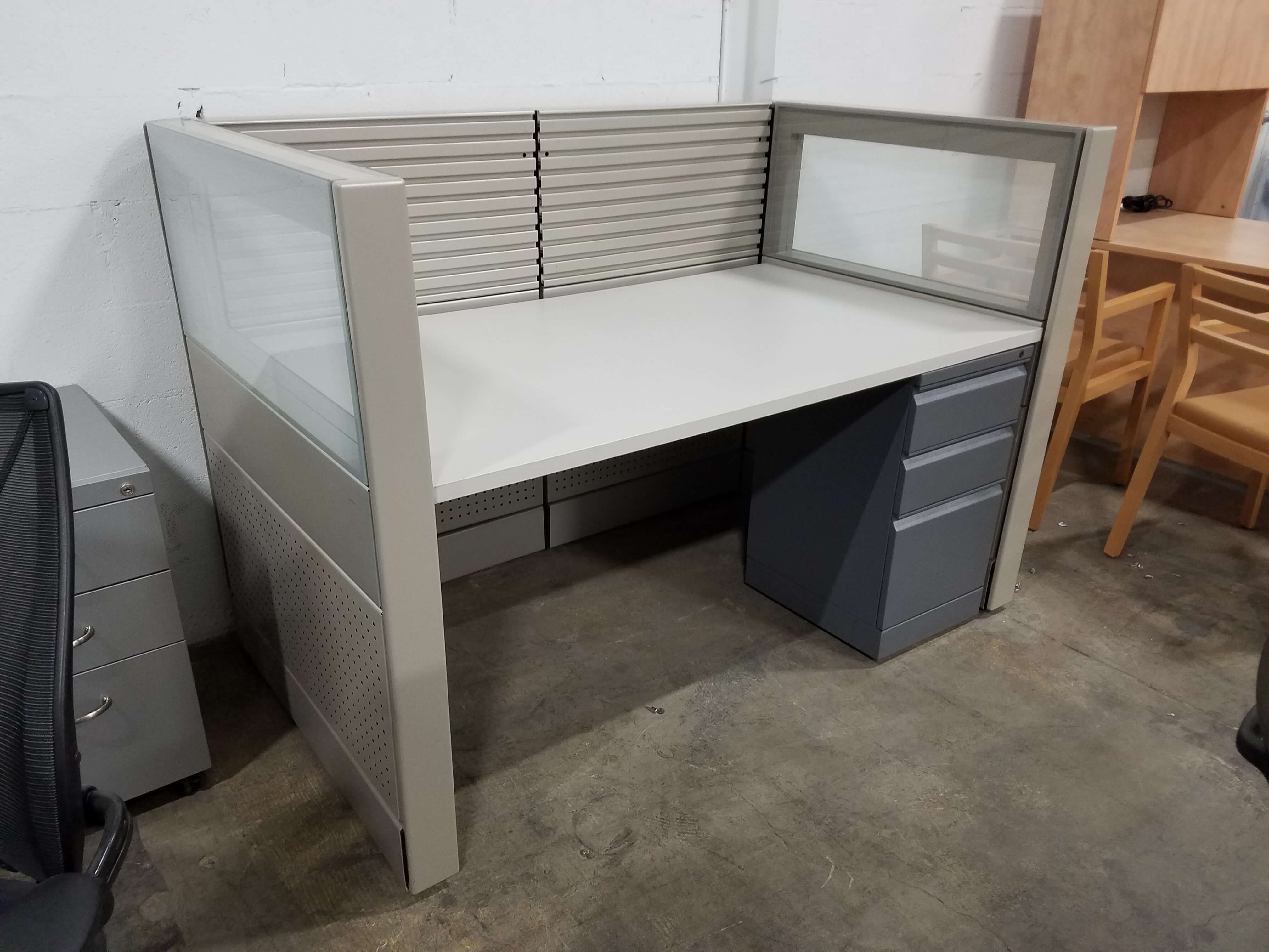 Used Herman Miller Ethospace 5x3x46h Low Panels Used