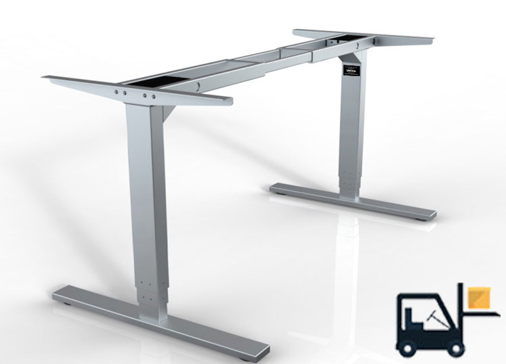 Sit Stand Desks by cubicles