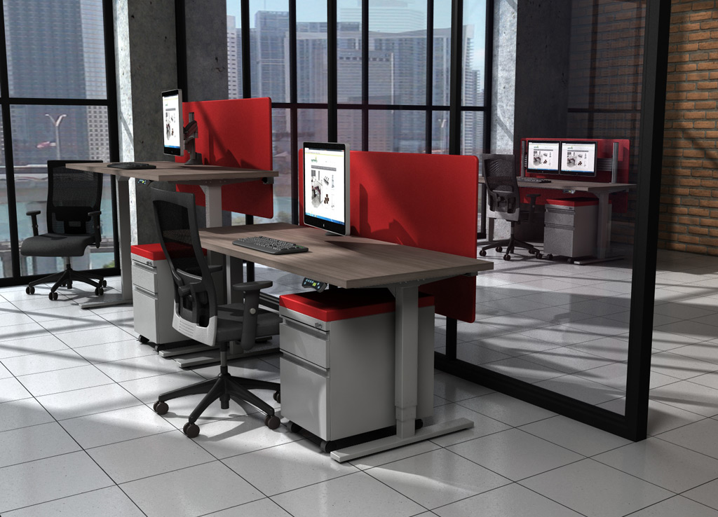 Standing Height Desk Sit And Stand Desk Bases Sit