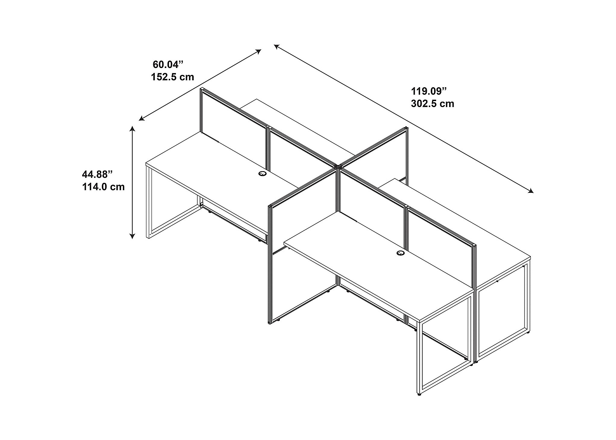 office designs for small spaces - cubicle desks