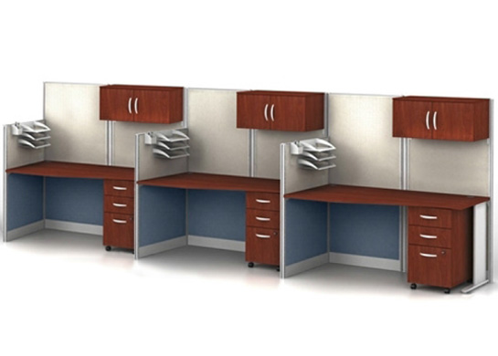Office cubicals Straight 3Pk
