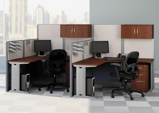 Office cubicals L-Station 2Pk