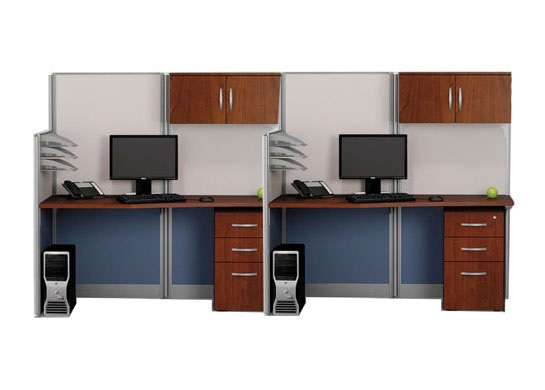 Office cubicals Straight 2-Pk