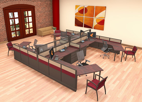 Office Furniture Workstations #L2
