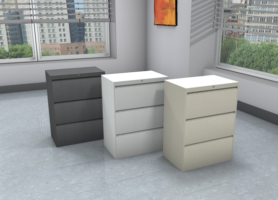 Office File Cabinets, 9300P #9330P-3F1H