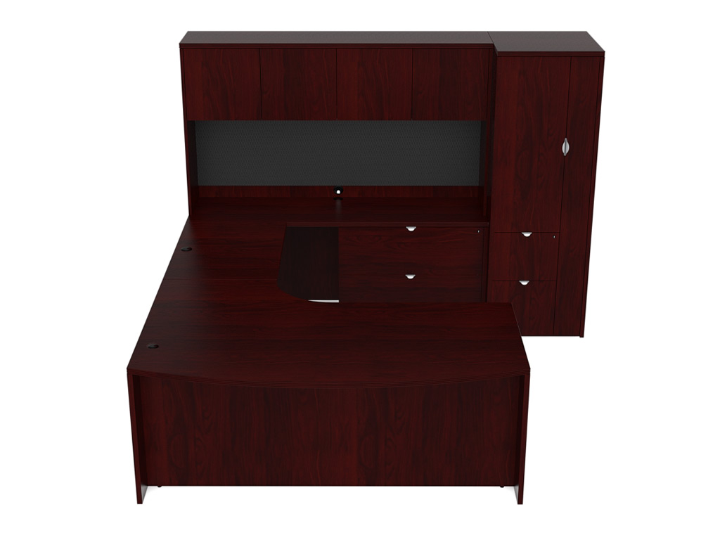 wooden office desk. Desk Furniture - #JA-175L Wooden Office I