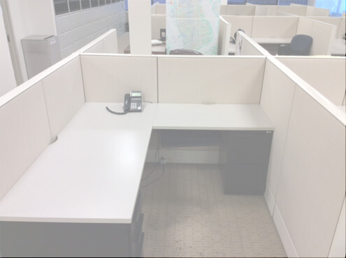 Used Cubicles #042716-7