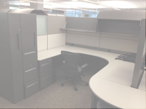 Used Cubicles #071316-3