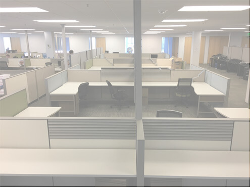 Used Cubicles #052217-UP1