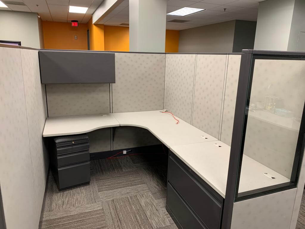 Used Cubicles #072219-DOT1